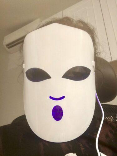 RENEW ME® LED Light Spa Mask photo review